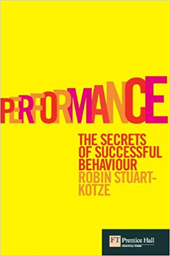 Performance book cover
